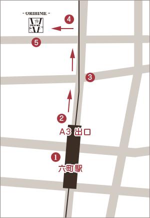 織姫への地図